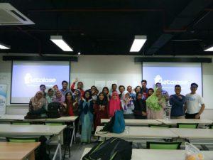 narablog bersama c2live di kelas GeTI
